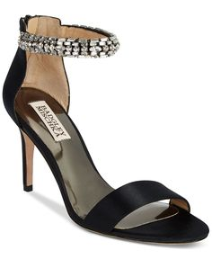 Badgley Mischka Women Carlotta Evening Sandals, Black >>> Continue to the product at the image link.