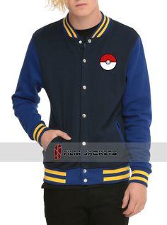 Pokemon Varsity Jacket