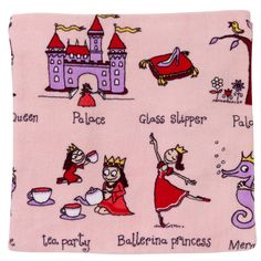 Princess mad 6 year olds will love this Tyrrell Katz Princess Towel. A fab gift to use for swimming or to take on holiday.