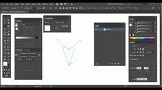 Adobe Illustrator - Small tutorial - Only two points to your heart
