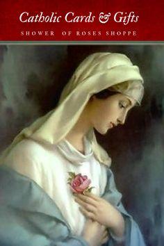 Catholic Funeral, Funeral Prayers, Funeral Cards, Catholic Art, Religious Art, Santa Maria, Prayer For Peace, Jesus Peace, Old Cemeteries