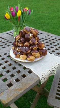 Home made profitta rolls - Mary Berry recipe