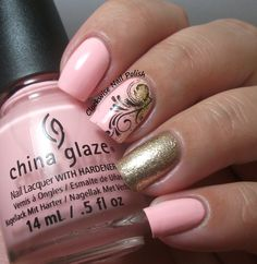 The Clockwise Nail Polish: China Glaze Spring In My Step