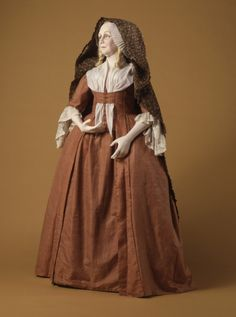 Woman's Sack Gown England or France, circa 1770-1780 Costumes; ensembles Silk LACMA Collections
