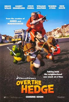 Movie Poster for Over The Hedge