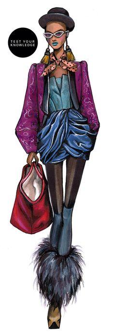 Fashion sketch Me recuerda un poco al famoso cantante de culture club...