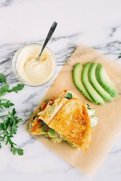 Could Muenster and avocado grilled cheese be your new go-to sammy? Grilled Cheese Avocado, Grilled Cheese Recipes, Grilled Cheeses, Avocado Toast, Munster Cheese Recipes, Baby Food Recipes, Cooking Recipes, Yummy Recipes, Snacks Recipes