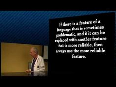 Crockford on JavaScript - Section 8: Programming Style & Your Brain