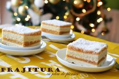 10 RETETE DE PRAJITURI PENTRU CRACIUN Romanian Food, Romanian Recipes, Holiday Desserts, Macarons, Vanilla Cake, Christmas Time, Marshmallows, Diy And Crafts, Cheesecake