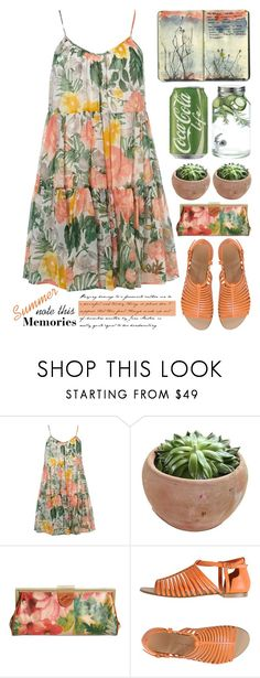 """Summer Memories: Note This"" by emcf3548 ❤ liked on Polyvore featuring Dorothy Perkins, Moleskine, Patricia Nash, Carlo Pazolini and Dot & Bo"