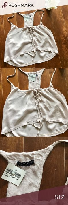 ✨🍦Brandy Melville crop tank 🍦✨ ✨🍦Brandy Melville crop tank 🍦✨ brand new woman b tank | color is like a light lavender pink Brandy Melville Tops Crop Tops