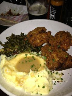 (YTT) They have beignets, fried okra, biscuits and gravy and everything southern you could need.
