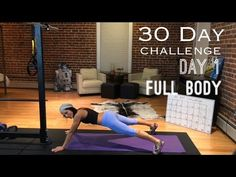DAY 1:Betty Rocker 30-Day Bodyweight Challenge - YouTube