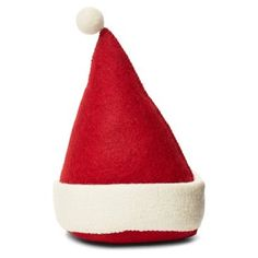 "Check out this item at One Kings Lane! 10"" Santa Hat Doorstop, Red"