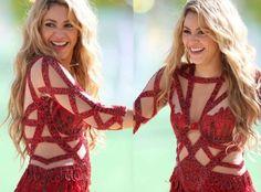 Shakira luce misteriosa pancita en el Mundial Brasil 2014
