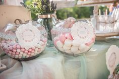 baptism welcome table decor