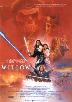 Directed by Ron Howard. With Val Kilmer, Joanne Whalley, Warwick Davis, Jean Marsh. A young farmer is chosen to undertake a perilous journey in order to protect a special baby from an evil queen. 80s Movies, Action Movies, Great Movies, Movies To Watch, Comedy Movies, Indie Movies, Val Kilmer, Love Movie, Movie Tv