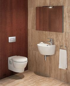 One Piece Toilet Modern Bathroom Design Remodeling Best Toilet For Small Bathroom With The Elegant Awesome And Fascinating Design Ideas That Look So Cute Cool Great And Beautiful With The Clean And Fresh With Mirror @ FDIC.