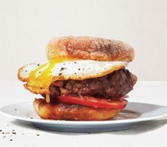 Beef, Bacon and Egg Burger