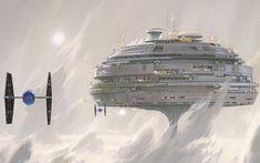 star wars floating city