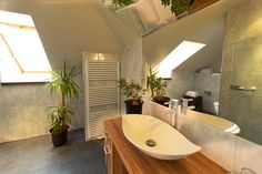 Badezimmer im Wolkenzimmer