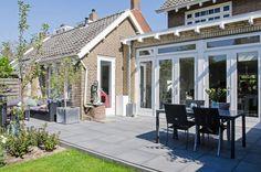 the final result of a design studioNEP made in Heemstede  Het eindresultaat van de uitbreiding die studioNEP maakte in Heemstede