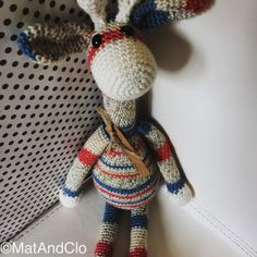 Look at that gorgeous face.  Come get your Gigi Giraffe at www.etsy.com/shop/MatAndClo