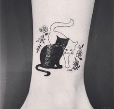 587 Best Cat Tattoo Images In 2019 Beautiful Tattoos Cute Tattoos