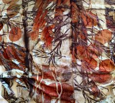 Beautiful fabric by India Flint