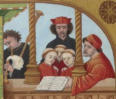 Making medieval music  BNF FR 143, fol. 65v