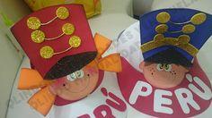 Q'LINDO Manualidades: Gorritas para Fiestas Patrias....
