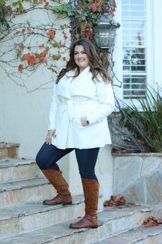 Plus Size Fashion - Lovely in LA Naturalizer July Boots Camel Plus Size Fashion Wide Calf Boots
