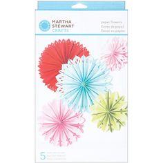 Amazon.com: Martha Stewart Crafts Modern Festive Paper Flowers: Arts, Crafts & Sewing