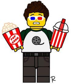 Lego Zoo, Lego Custom Minifigures, Lego Truck, Lego House, Lego Projects, Cool Lego, Lego Creations, Lego Star Wars, Legos