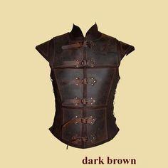Reinforced jerkin for men made of leather von Larperlei auf Etsy