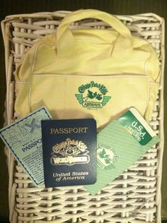 Cabbage Patch Kids Passport & Airways Travel Bag from the 80s on Etsy, $11.00
