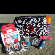thirty one bridesmaid gifts - mini survival kit. Great idea for a wedding gift
