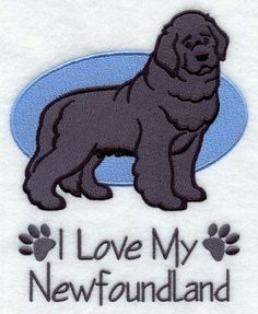Machine Embroidery Designs at Embroidery Library! Brown Newfoundland Dog, Dog Lover Gifts, Dog Lovers, I Love Dogs, Cute Dogs, Cute Dog Drawing, Dog Facts, Dog Paintings, Dogs And Puppies