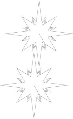 Christmas Paper Star Diy  Christmas Paper Ornaments