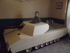 Tank bed. This one was hand built. Incredible.