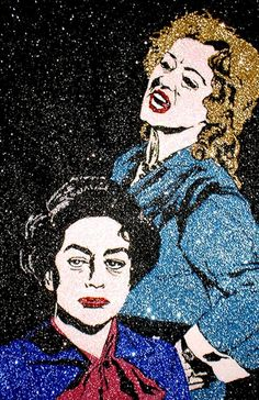 A sparkly Bette Davis and Joan Crawford in Whatever Happened to Baby Jane?