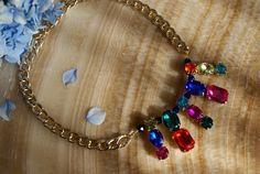 Francine's Place: Statement summer necklace (Diy)
