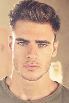 men with gorgeous eyes Beautiful Men Faces, Gorgeous Eyes, Square Face Hairstyles, Up Hairstyles, Face Men, Male Face, Hommes Sexy, Handsome Faces, Square Faces