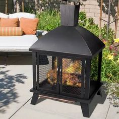 Need to Buy Stratford Steel Wood Burning Fire Pit - Pleasant Hearth