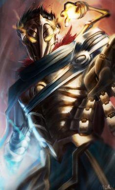 Viktor by MaruMun HD Wallpaper Background Fan Art Artwork League of Legends lol