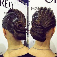 Ballroom hairstyle Darya Mart имидж-студия @artecreo #ballroom #ballroommakeup #ballroomhairstyle