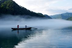 26  A hidden river beneath the mist Beautiful China HD! Chinas tourism Beautiful photos in China