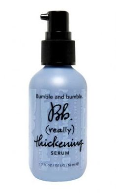 Bumble and bumble Thickening Serum is amazing and worth every penny. Due to my medical condition, last year I was losing hair and not getting much new growth. Between this product and a Hair, Nail, & Skin supplement my hair is much fuller and I have a TON of regrowth!