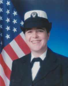 My daughter Laura when she was in the Navy.