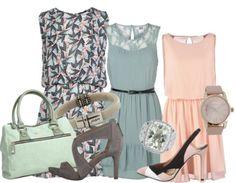 pastelkleuren  jurkjes